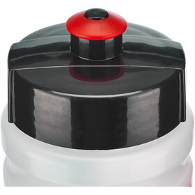 Elite Corsetta Trinkflasche 350ml transparent/rot
